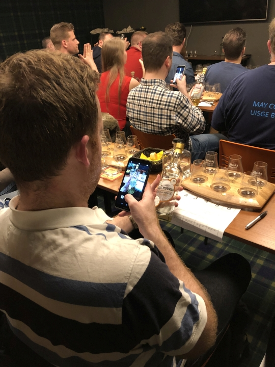 Asta Morris tasting in Budapest - March 2019