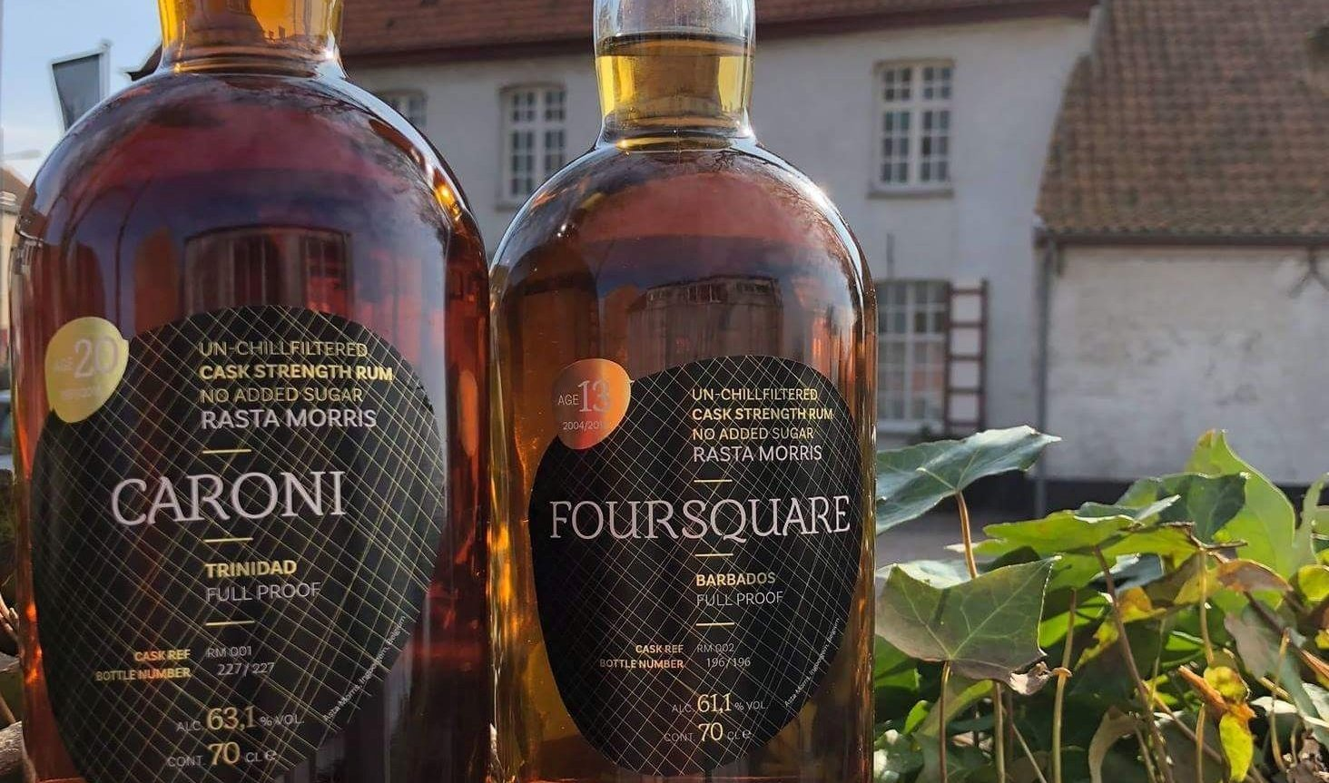Our Caroni and Foursquare rum